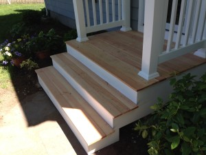 Fir stairs by scituate handyman